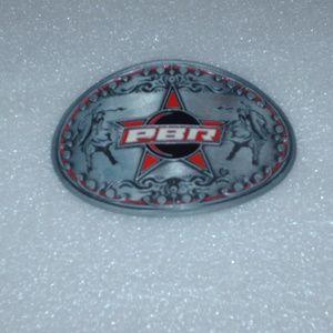 PBR - Professional Bull Riders metal belt buckle